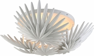 Corbett 310-33 Savvy Contemporary Gesso White Ceiling Light Fixture