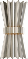 Corbett 312-12 Moxy Contemporary Silver Leaf Wall Sconce Light