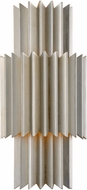 Corbett 312-13 Moxy Contemporary Silver Leaf Wall Sconce