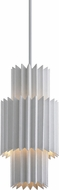 Corbett 313-42 Moxy Contemporary Gesso White Mini Drop Lighting Fixture