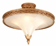 Corbett 49-32 Tivoli 4 Light Semi Flush Ceiling Fixture