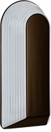 Costaluz 243398-FR 2433 Series Contemporary Bronze Frosted Outdoor Wall Sconce