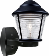 Costaluz 310057-WALL 3100 Series Modern Black Exterior Wall Sconce Lighting