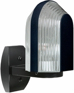 Costaluz 313957-WALL 3139 Series Contemporary Black Outdoor Wall Sconce Light