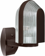 Costaluz 313998-WALL 3139 Series Contemporary Bronze Outdoor Wall Lamp