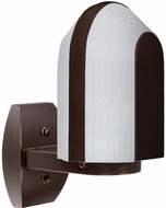 Costaluz 313998-WALL-FR 3139 Series Modern Bronze Frosted Exterior Wall Lighting