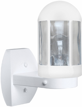 Costaluz 315153-WALL 3151 Series Contemporary White Outdoor Sconce Lighting