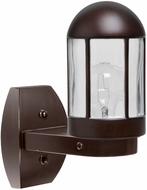 Costaluz 315198-WALL 3151 Series Contemporary Bronze Outdoor Wall Sconce Lighting