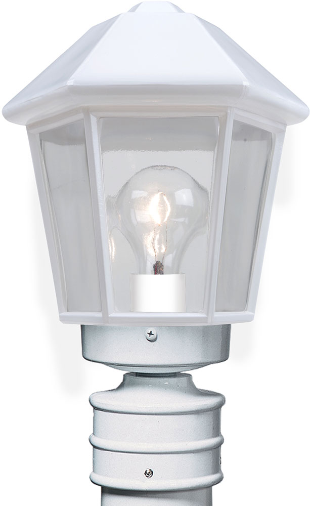 Costaluz 327253-POST 3272 Series Modern White Exterior Lamp Post ...