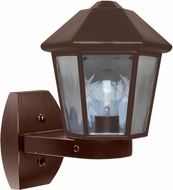 Costaluz 327298-WALL 3272 Series Modern Bronze Exterior Wall Sconce Light