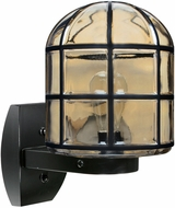 Costaluz 341756-WALL 3417 Series Contemporary Black Outdoor Wall Lamp