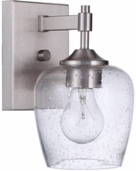 Craftmade 12406BNK1 Stellen Brushed Polished Nickel Wall Sconce