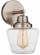 Craftmade 19507BNK1 Essex Brushed Polished Nickel Wall Sconce