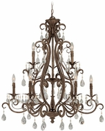 Craftmade 25629-FR Englewood French Roast 35 Chandelier Lamp