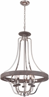 Craftmade 36545-PLNGRW Ashwood Polished Nickel / Greywood 26  Foyer Lighting