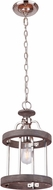 Craftmade 36591-PLNGRW Ashwood Polished Nickel / Greywood Mini Pendant Lighting