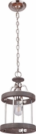 Craftmade 36591-PLNGRW Ashwood Polished Nickel/Greywood Mini Pendant Lighting