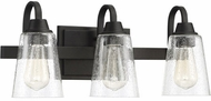 Craftmade 41903-ESP-CS Grace Espresso 3-Light Bathroom Sconce Lighting