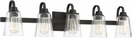 Craftmade 41905-ESP-CS Grace Espresso 5-Light Lighting For Bathroom