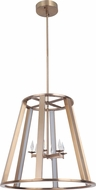Craftmade 42436-SB-LED Opus Modern Satin Brass LED 20  Foyer Lighting Fixture