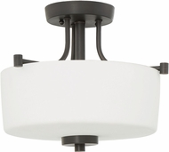 Craftmade 43553-ABZ Clarendon Aged Bronze Flush Mount