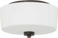 Craftmade 43582-ABZ Clarendon Aged Bronze Brushed Flush Mount Lighting Fixture