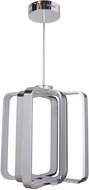 Craftmade 43830-CH-LED Symmetry Modern Chrome LED Foyer Light Fixture