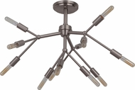 Craftmade 44752-BNK Aspen Contemporary Brushed Polished Nickel Home Ceiling Lighting