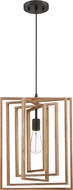 Craftmade 45092-ESP Cube Modern Espresso Pendant Lighting