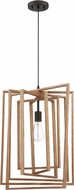 Craftmade 45093-ESP Cube Contemporary Espresso Pendant Light