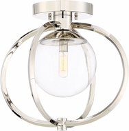 Craftmade 45551-PLN Piltz Contemporary Polished Nickel Ceiling Light