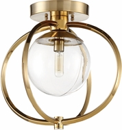 Craftmade 45551-SB Piltz Contemporary Satin Brass Ceiling Light
