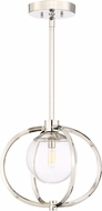 Craftmade 45591-PLN Piltz Modern Polished Nickel Hanging Lamp