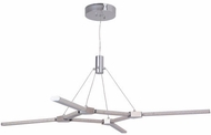 Craftmade 45628-CH-LED Horizon Modern Chrome LED Pendant Lamp