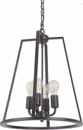 Craftmade 45934-OBG Arc Modern Oil Bronze Gilded 16  Foyer Lighting Fixture
