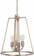 Craftmade 45934-SB Arc Modern Satin Brass 16  Foyer Lighting