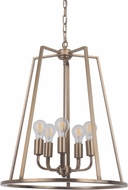 Craftmade 45935-SB Arc Contemporary Satin Brass 20  Entryway Light Fixture