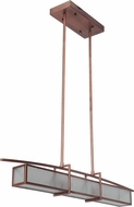 Craftmade 46070-BCP Kodo Contemporary Brushed Copper Kitchen Island Light