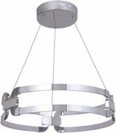 Craftmade 47290-CH-LED Amulet Contemporary Chrome LED Drop Ceiling Lighting
