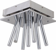 Craftmade 47587-CH-LED Lexi Modern Chrome LED Ceiling Lighting Fixture