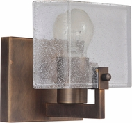 Craftmade 47601-PAB Trouvaille Contemporary Patina Aged Brass Lighting Sconce