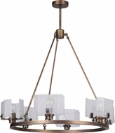 Craftmade 47626-PAB Trouvaille Contemporary Patina Aged Brass Hanging Chandelier