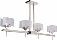 Craftmade 47674-PLN Trouvaille Modern Polished Nickel Kitchen Island Light Fixture
