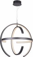 Craftmade 47890-MBK-LED Dolby Modern Matte Black LED 31.5  Hanging Pendant Light