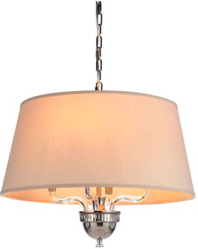 Craftmade 48094-PLN Deran Polished Nickel Drum Pendant Lighting