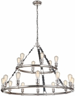 Craftmade 48118-PLN Huxley Contemporary Polished Nickel 44 Chandelier Lamp
