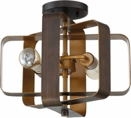 Craftmade 48552-ABZ Linked Contemporary Aged Bronze Brushed Ceiling Light
