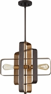 Craftmade 48592-ABZ Linked Modern Aged Bronze Brushed 18  Pendant Light