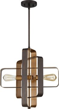 Craftmade 48592-ABZ Linked Modern Aged Bronze Brushed Ceiling Pendant Light