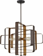 Craftmade 48595-ABZ Linked Modern Aged Bronze Brushed 28  Pendant Lamp